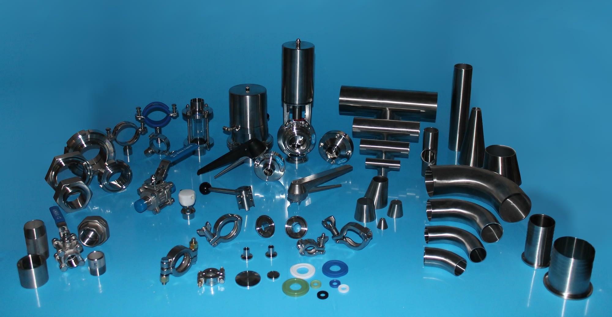 Zenith-Sanitary-Hygienic-Stainless-Steel-Tubes-Valves-Fittings